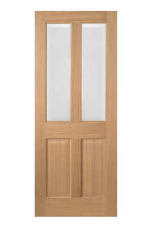 LPD Oak Richmond 2 Light Internal Glazed Door - Imperial