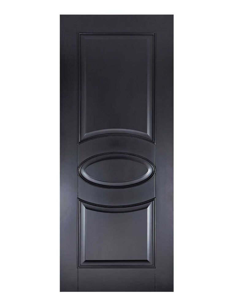 Black Versailles FD30 Fire Door