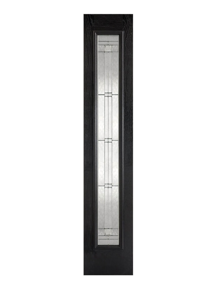 GRP-Sidelight-Black-Glazed-1L-Elegant