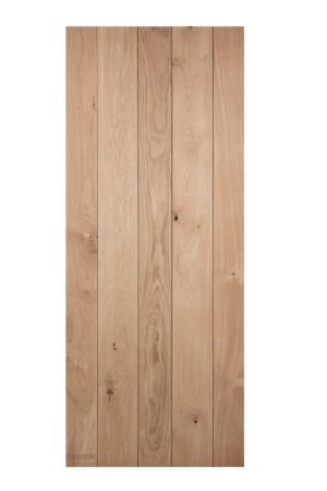 oak ledged and braced door