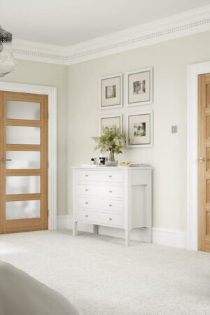 Contemporary 5P Oak - Bedroom
