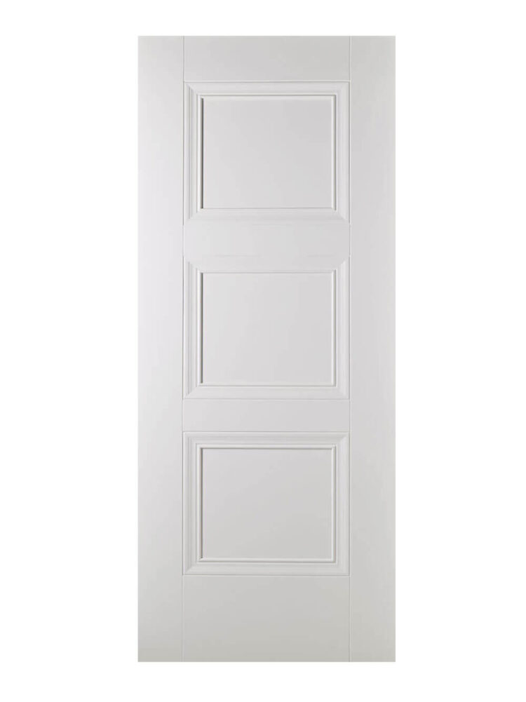 White Amsterdam FD30 Fire Door.