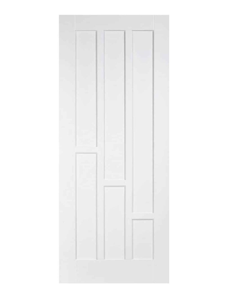 White Coventry FD30 Fire Door