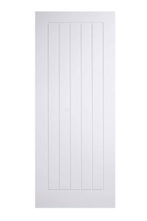 White Mexicano FD30 Fire Door