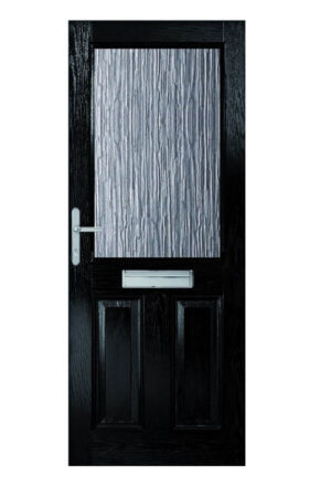 XL Joinery 2XG with Clear Glass External Composite Doorset