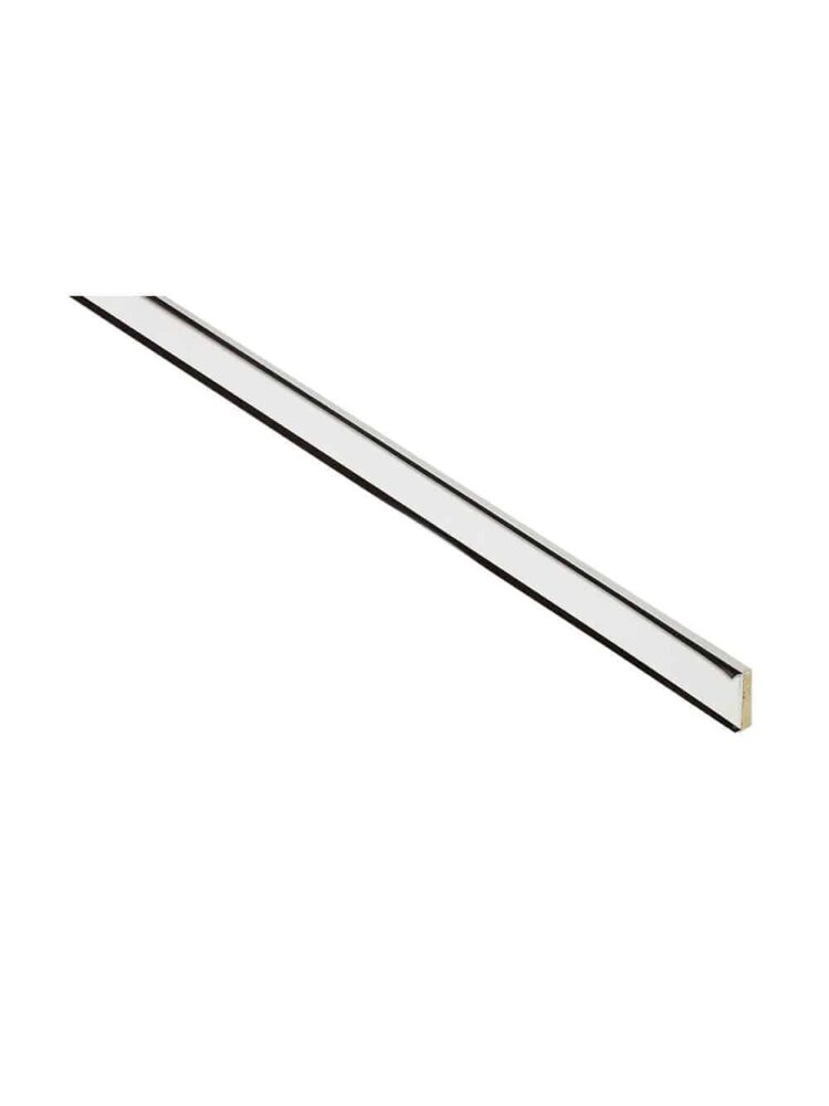 White Bladed Dual Seal Intumescent - 2100x20x4(mm)