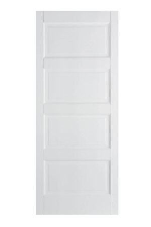 FD30 Fire door version of the Contemporary Primed White Door