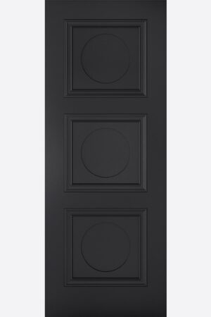 LPD Antwerp 3P Primed Black Internal Door 2