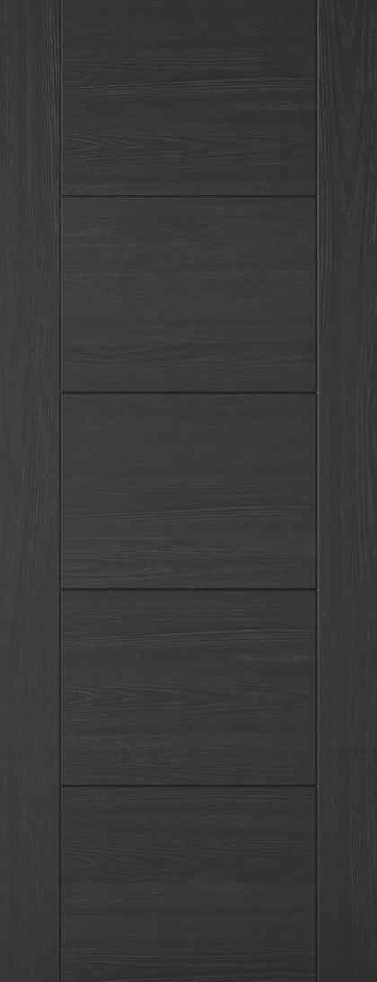 LPD Vancouver 5P Pre-Finished Charcoal Black Internal FD30 Fire Door 1