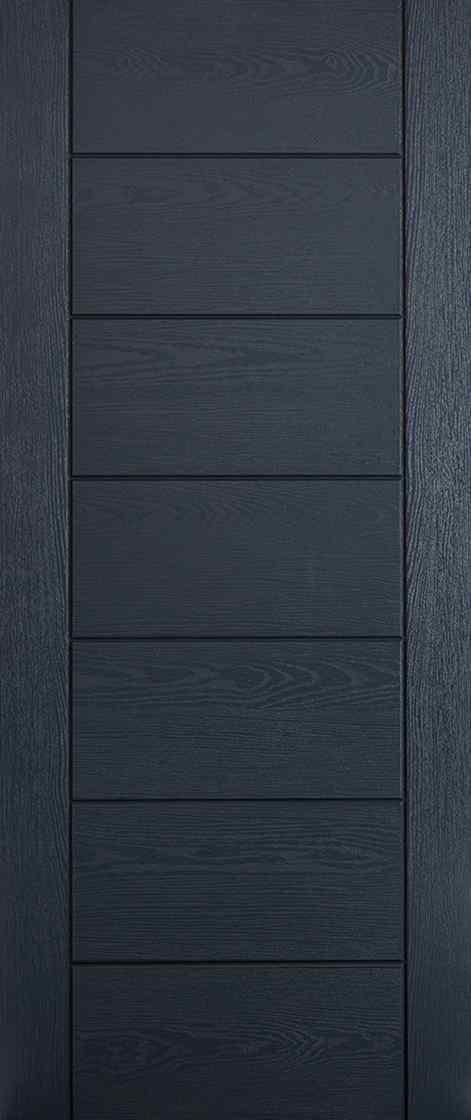 LPD Modica Pre-Finished Anthracite Grey External Composite Door 1