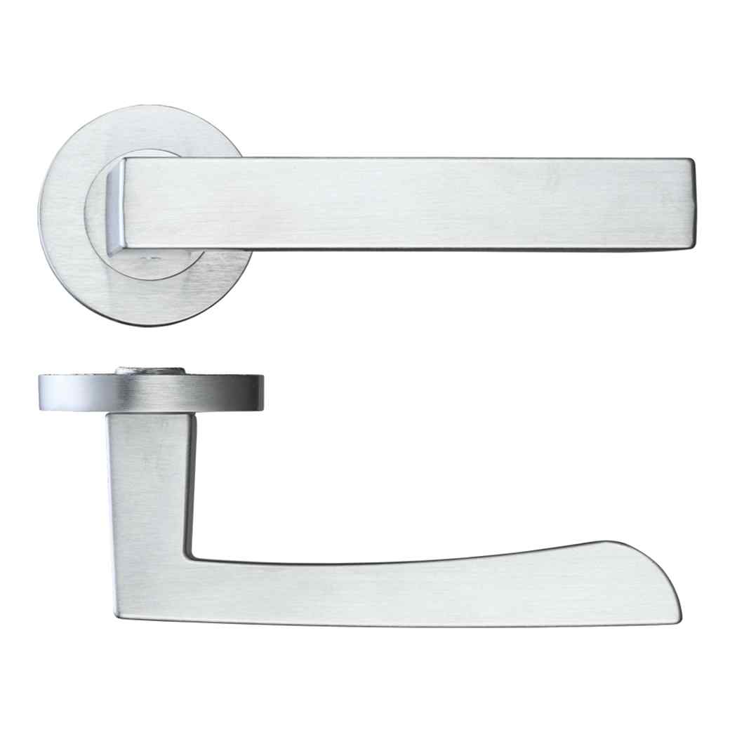 LPD Ironmongery Fornax Satin Chrome Privacy Handle Hardware Pack 1