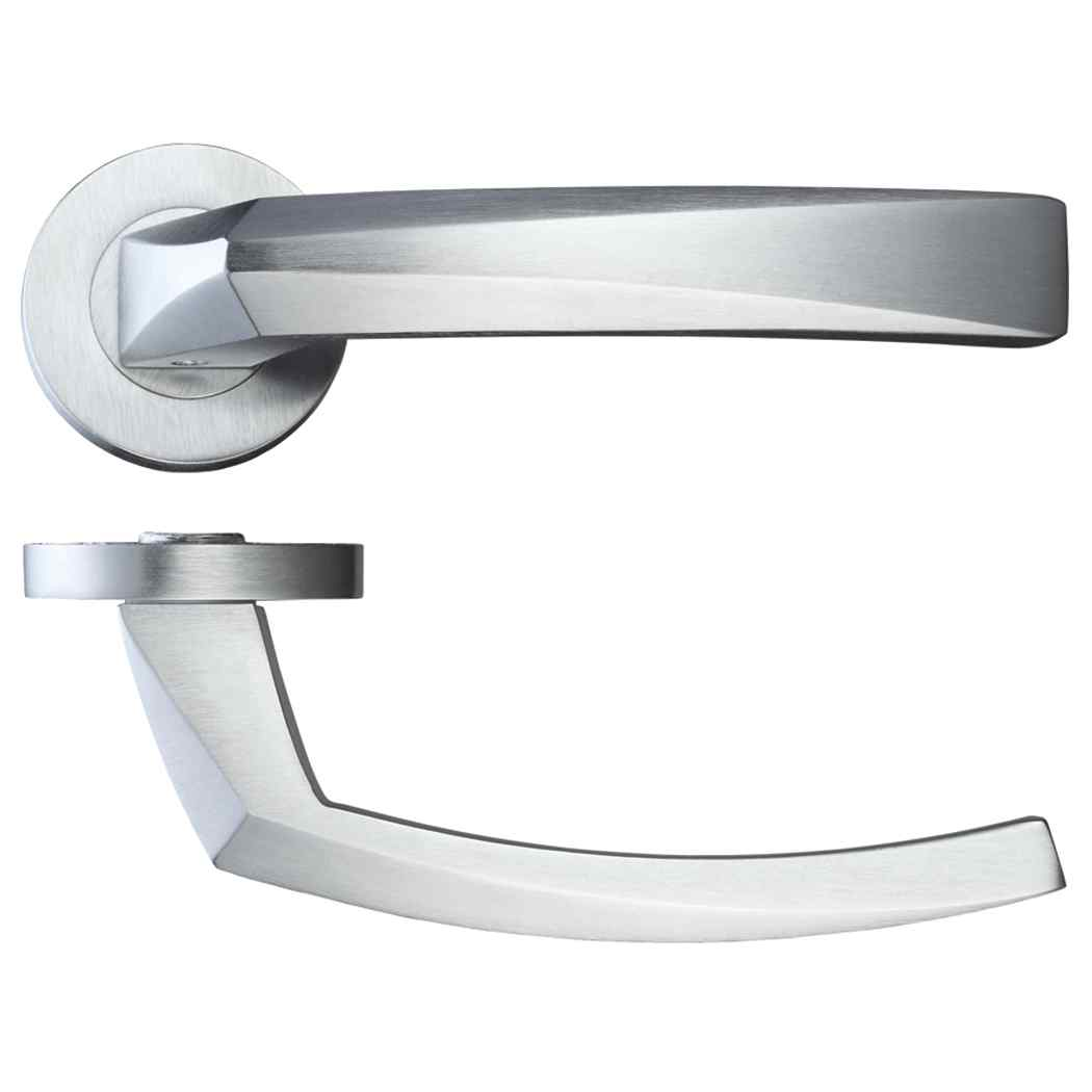 LPD Ironmongery Hercules Satin Chrome Handle Hardware Pack 1