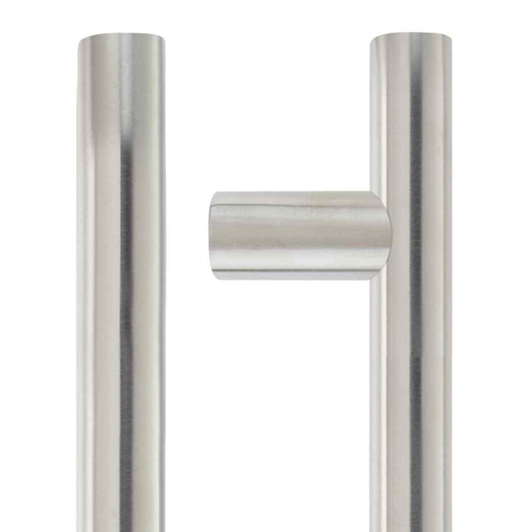 LPD Ironmongery Pictor Satin Chrome 600 Privacy Handle Hardware Pack 1