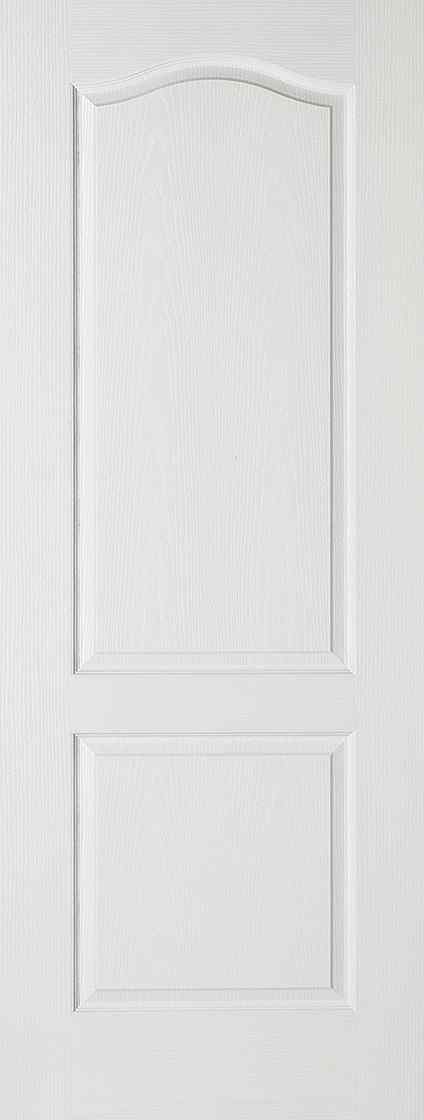 White Moulded Classical 2P