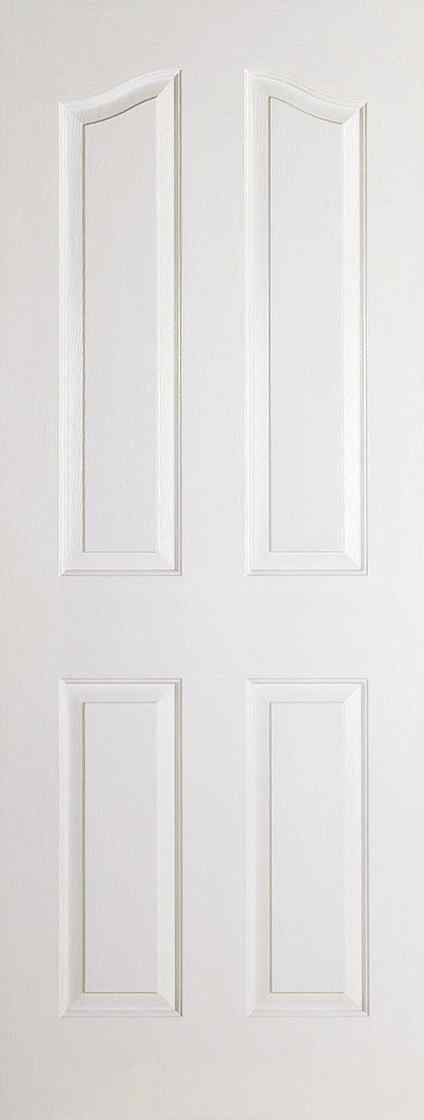 White Moulded Mayfair 4P