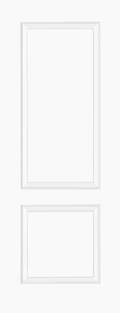 LPD Bruges 2P Pre-finished White Internal FD30 Fire Door 1